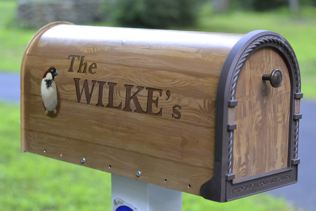 custom hand-painted unique mailbox gift imagine art